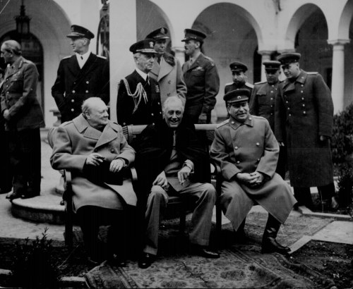 The Yalta Conference Historical Resources About The Second World War