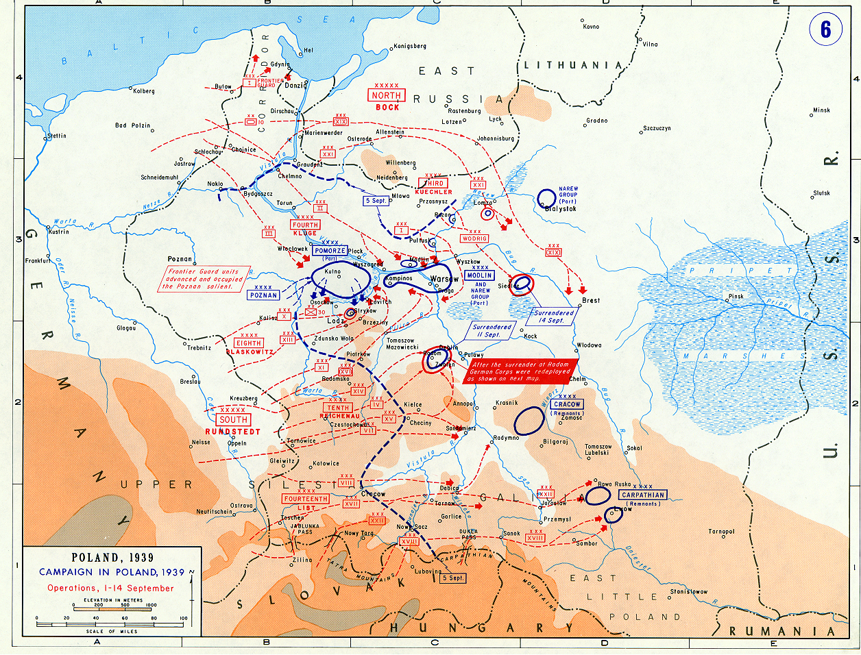 Invasion of Poland Maps - September 1939 « Historical ...