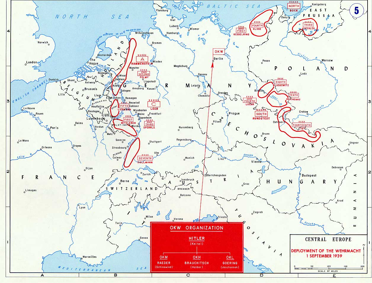 Battle Of Poland Maps Historical Resources About The Second - Germany map ww2