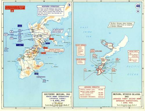 Invasion of Iwo Jima and Okinawa, 1 April 1945