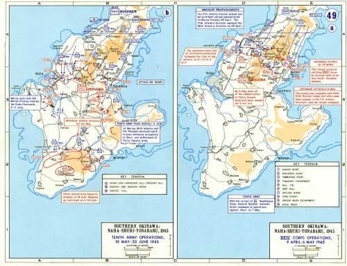 Invasion of Iwo Jima and Okinawa, 9 April- 30 June 1945