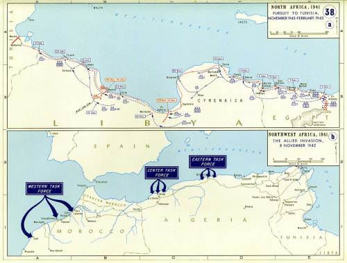 North Africa, The Allied Invasion, 8 November 1942