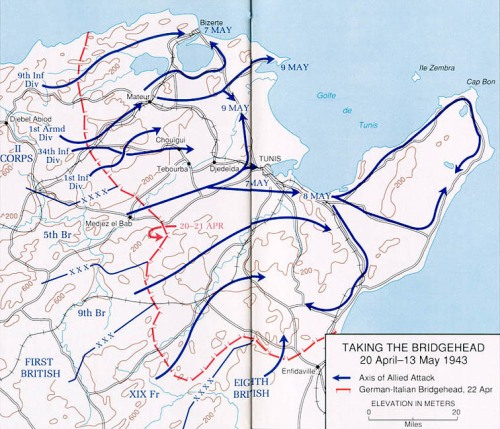 Tunisia, Taking the Bridgehead, 20 April - 13 May 1943